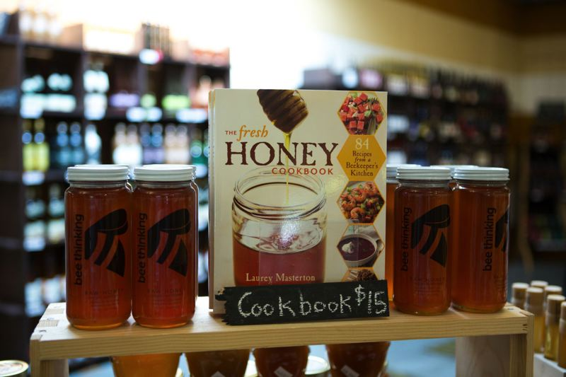 PHOTO BY ALVARO FONTAN - The Bee Thinking retail shop on Southeast Poplar Street in Portland sells local honey and honey-related products.
