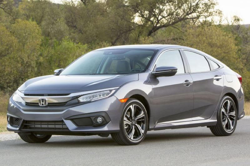 HONDA NORTH AMERICA - The exterior of the redesigned 2016 Honda Civic is bolder and more aggressive than previous versions.
