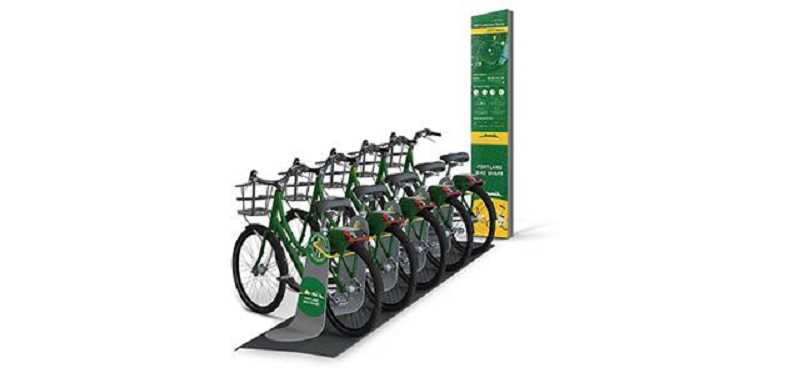 COURTESY: PORTLAND BUREAU OF TRANSPORTATION  - Portland's Bike Share program is set to launch this summer. No city money will pay for the operations.