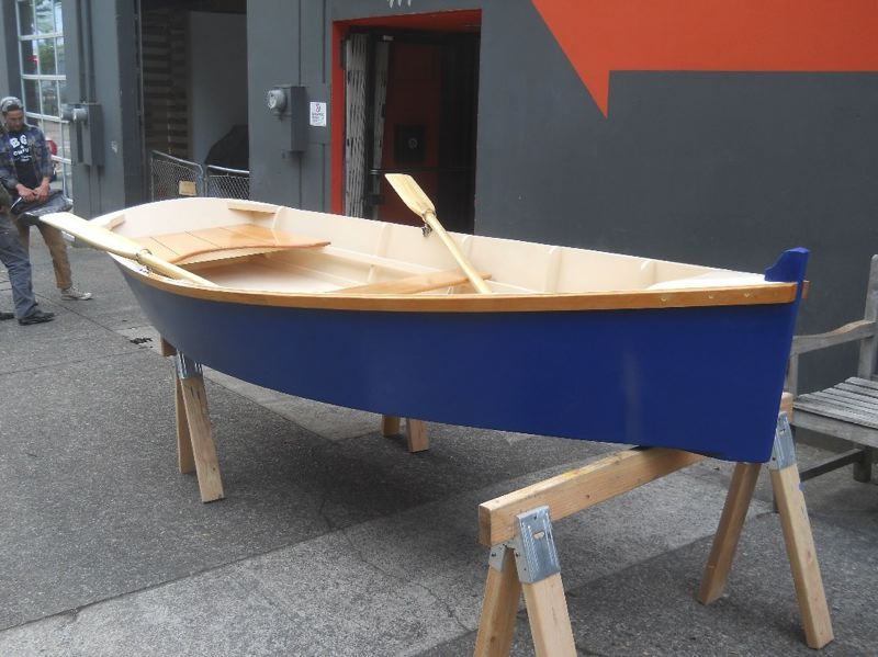 PHOTO COURTESY: NCEF - About 35 Rowe Middle School students will meet three times a week to build a 10-foot wooden boat.