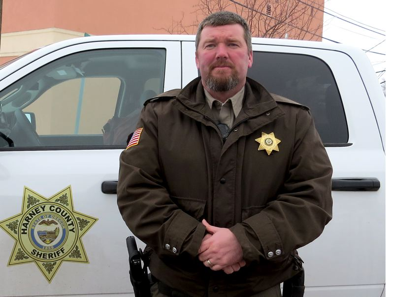 COURTESY OF DAVID WARD - Harney County Sheriff David M. Ward says his community feels like it is being held hostage by militants who have occupied the nearby wildlife refuge for two weeks.