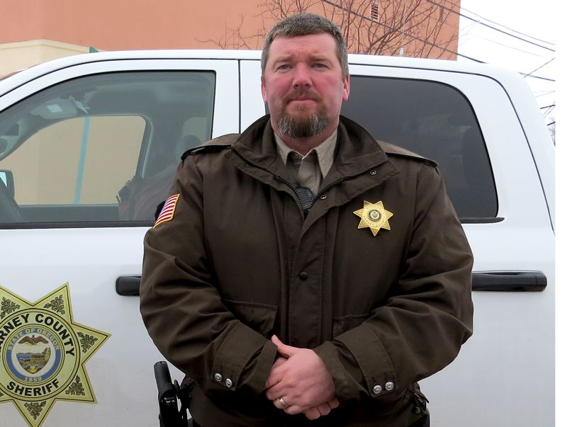 COURTESY OF THE HARNEY COUNTY SHERIFFS OFFICE - Harney County Sheriff David M. Ward says his community is being held hostage to a national cause. Most people in the county want the protest to end peacefully, Ward says.