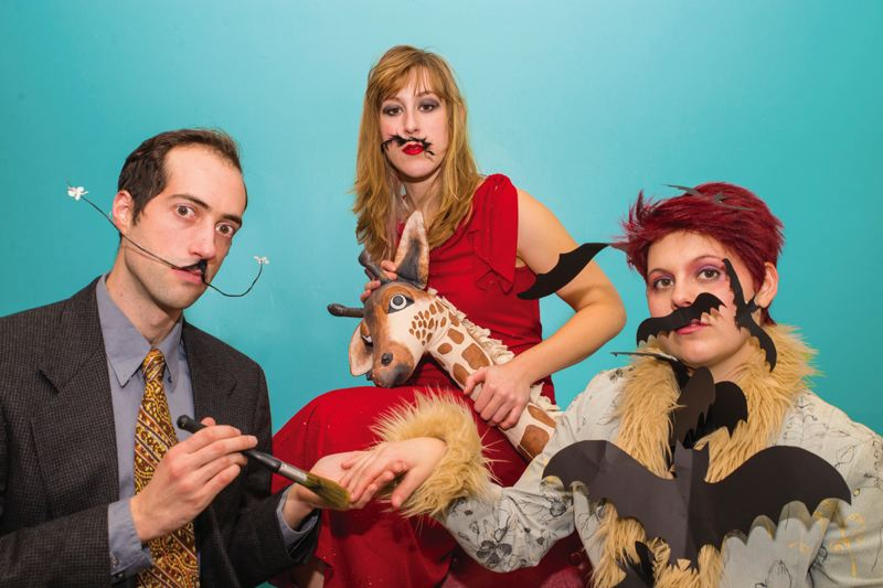 COURTESY PHOTO - Some Fertile Ground highlights including Mustache Party! The Dali Show .