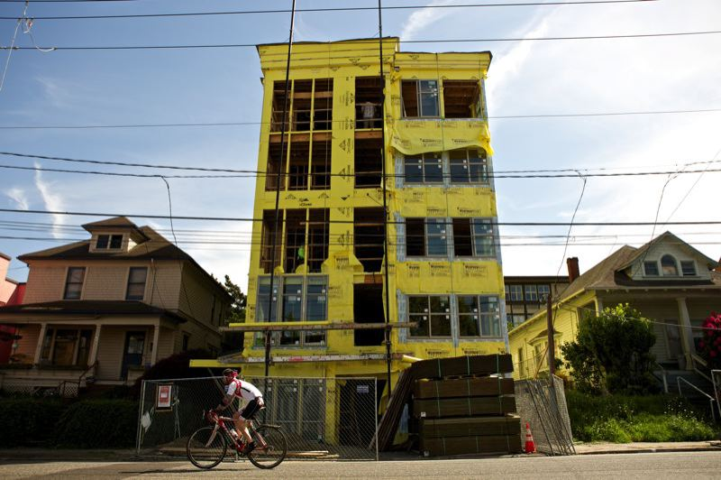 PORTLAND TRIBUNE: JAIME VALDEZ - The construction of new multi-family housing buildings in Portland is finally beginning to catch up to the demand.