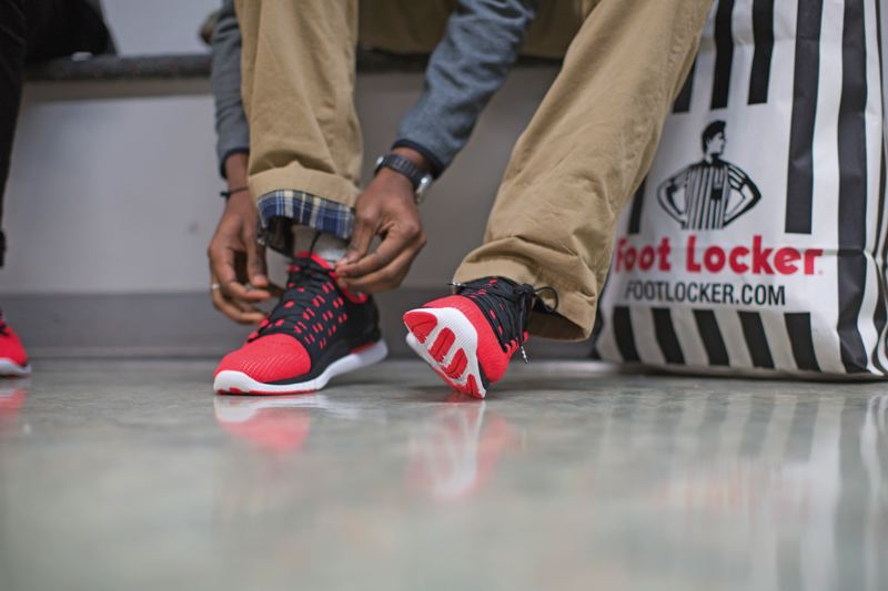 COURTESY FOOT LOCKER - Eighteen students from seven countries are spending  three weeks learning how to make and market a lifestyle shoe for Under  Armour to ...