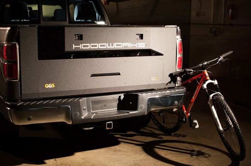 COURTESY: HOODWORKS - GearGate is a Swiss-Army style tailage replacement solution to organizing your pickup.