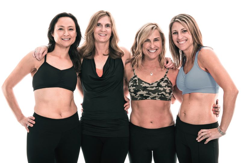 COURTESY: HANDFUL BRA - Athlete Jennifer Ferguson designed the first Handful Bra after she searched in vain for one that she liked, that could go from workout to weekend, or from trails to cocktails.