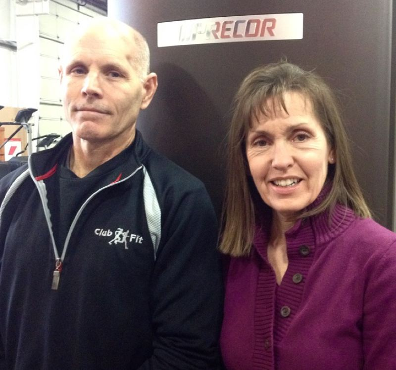 Ron and Barb Raines, Club Fit