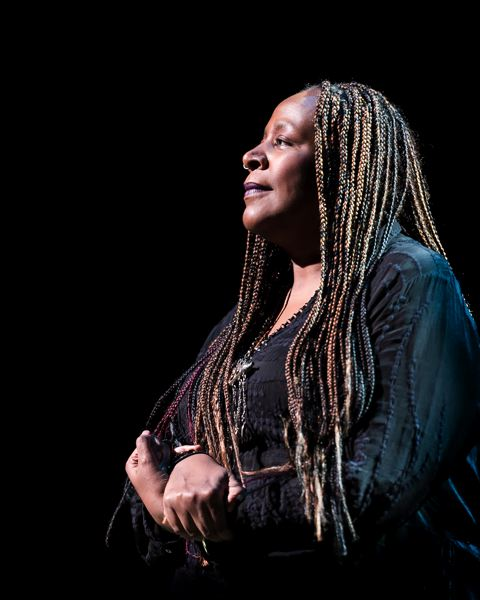 COURTESY: CRAIG SCHWARTZ - Dael Orlandersmith brings her self-reflecting one-woman show Forever to Portland Center Stage, Jan. 30-March 20.