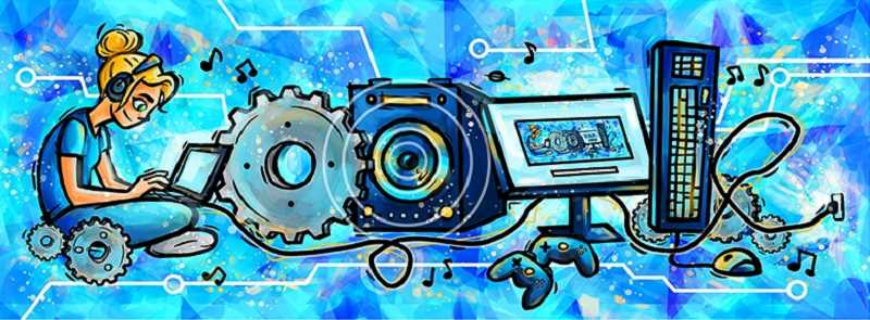 COURTESY OF GOOGLE - Bailey Volchok's state-winning entry in the Doodle 4 Google competition.