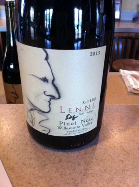 Kill Hill Pinot Noir comes from the steep northeast corner of the vineyard.