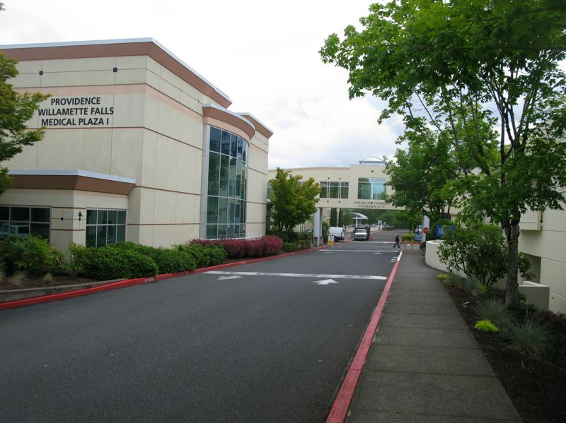PHOTO BY: RAYMOND RENDLEMAN - The Willamette Falls Medical Center is planning a major expansion of its buildings in Oregon City.