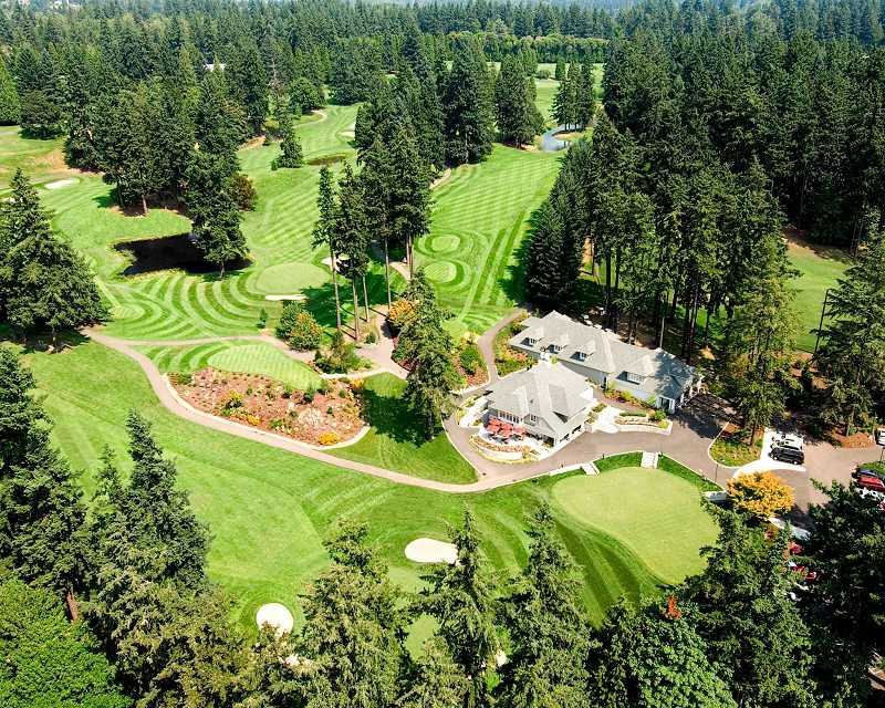 SUBMITTED PHOTO - City planners asked Oswego Lake Country Club in January to provide more specific information on mitigation efforts to compensate for the removal of trees lining its golf course.