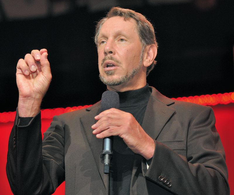 COURTESY WIKIPEDIA/ORACLE - Oracle co-founder and Executive Chairman and Chief Technology Officer Larry Ellison asked for daily reports on the progress of Cover Oregon beginning in November, 2013.