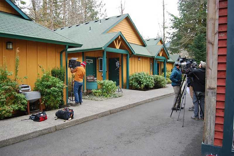 contributed photo hgtv recently filmed an episode of tiny house big living at the