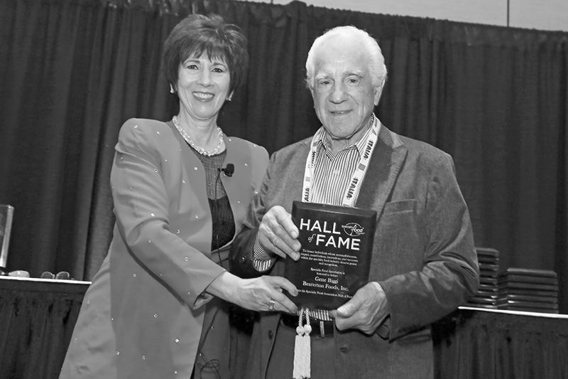 SUBMITTED PHOTO - Gene Biggi, chairman at Beaverton Foods, has been inducted into the Specialty Food Associations Specialty Food Hall of Fame.
