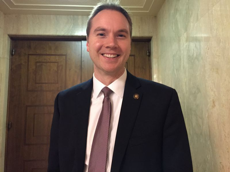 SUBMITTED PHOTO - Oregon Rep. John Davis announced on Thursday that he will not seek re-election to the legislative seat he has held since 2013.