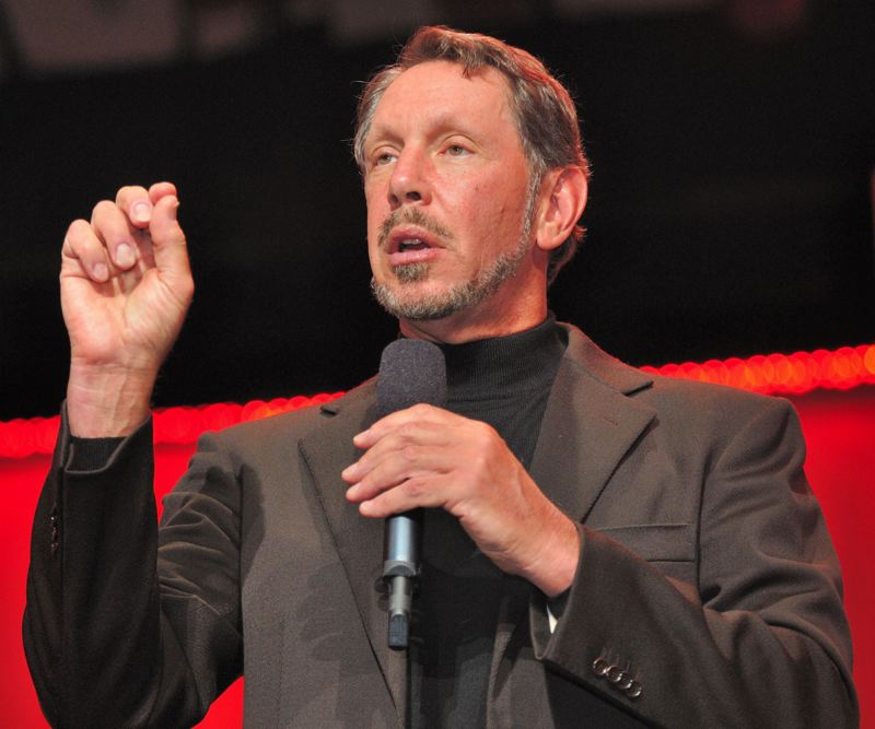 WIKIPEDIA/ORACLE - Oracle co-founder Larry Ellison was sent information indicting the company's work on Cover Oregon, newly released emails show. He promised whatever resources necessary to fix the website.