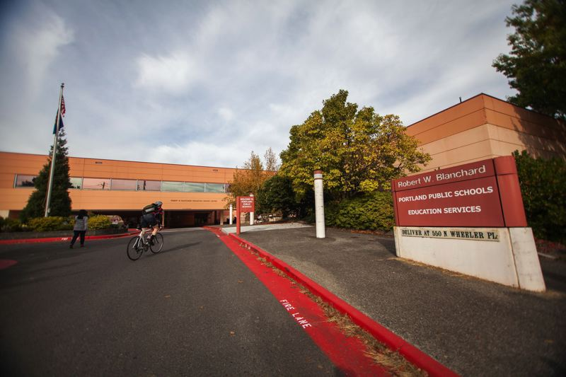 TRIBUNE FILE PHOTO - Portland Public Schools administrative offices in North Portland, where administrators are the subject of two filed lawsuits and one to be filed by the end of March.