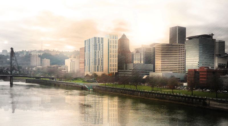 COURTESY: MULTNOMAH COUNTY/SRG PARTNERSHIP - An artist's rendering of the new Multnomah County Courthouse design by SRG Partnership.