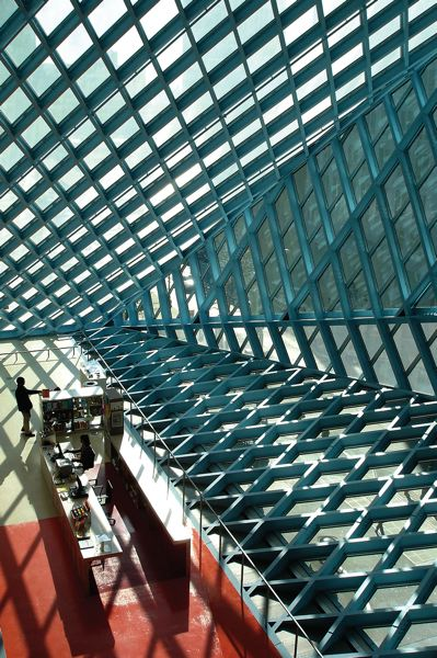 COURTESY: BRIAN LIBBY - Rem Koolhaas designed the majestic Seattle Central Library.