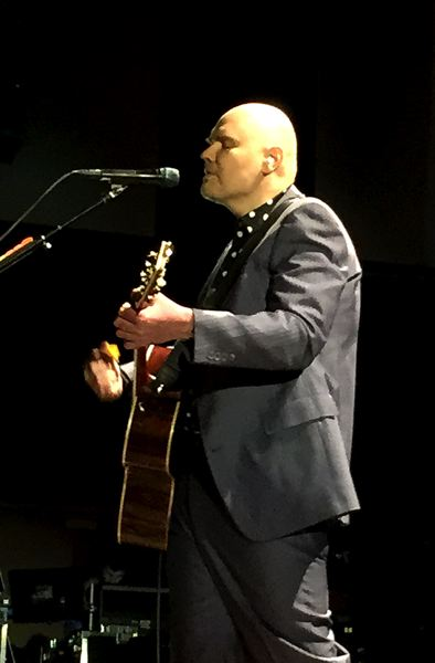 COURTESY PHOTO: NICOLE DECOSTA - Smashing Pumpkins' lead man Billy Corgan lit up the crowd during the band's kick off of its new tour.