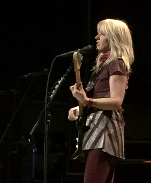 COURTESY PHOTO: NICOLE DECOSTA - Singer Liz Phair opened the show for Smashing Pumpkins March 22 as band kicked off its new national tour.