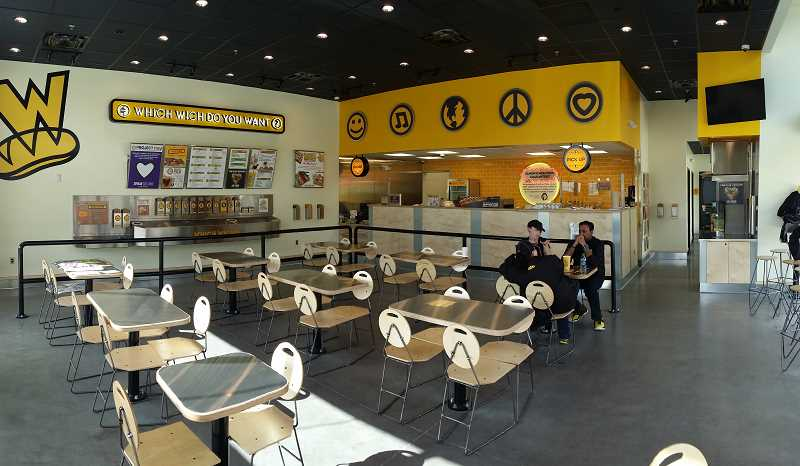 DAN HAMBY - Which Wich Superior Sandwiches plans to open its first Oregon store near Southwest 72nd Avenue on Monday.