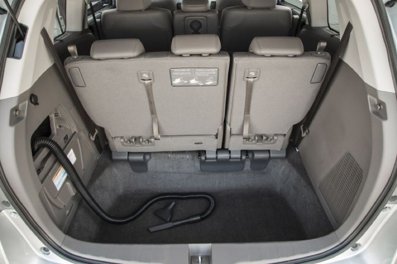 American Honda Motor Company Cargo E Is Cavernous In The 2016 Odyssey Even