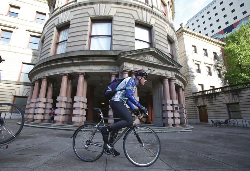 TRIBUNE FILE PHOTO - A new budget forecast says the city of Portland will have more than $9 million more than expected when it starts the long budgeting process.