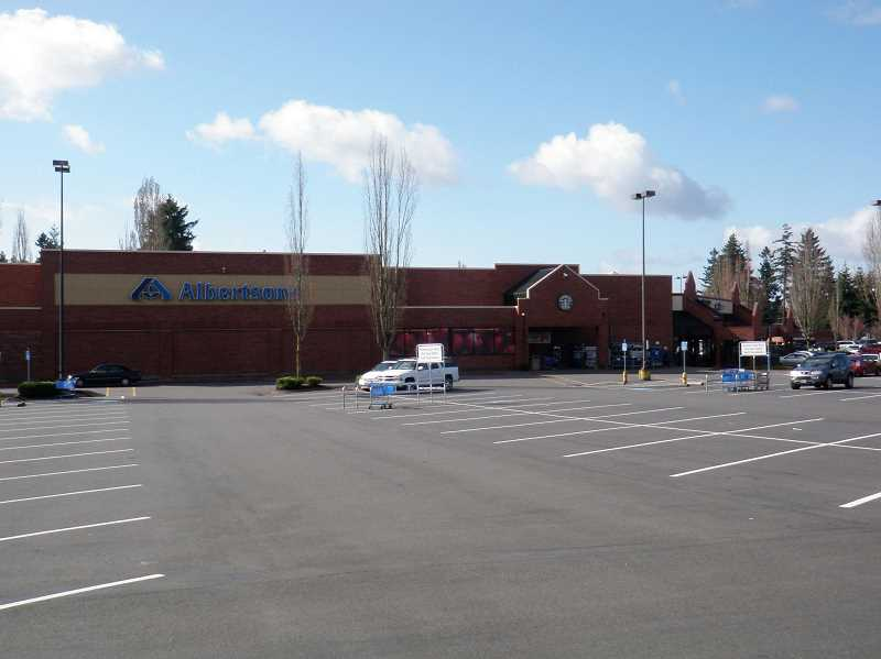 SUBMITTED - The Tigard Albertsons supermarket on Southwest Durham Road was one of several across the Portland area that were converted to Haggen and then closed after the company went bankrupt. This summer, Albertson plans to re-open the store.