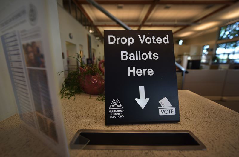 COURTESY PHOTO: MULTNOMAH COUNTY - State officials expecting a big turnout for Tuesday's primary election were disappointed when the number of voters was below previous years, even though there were significant races on the ballot.