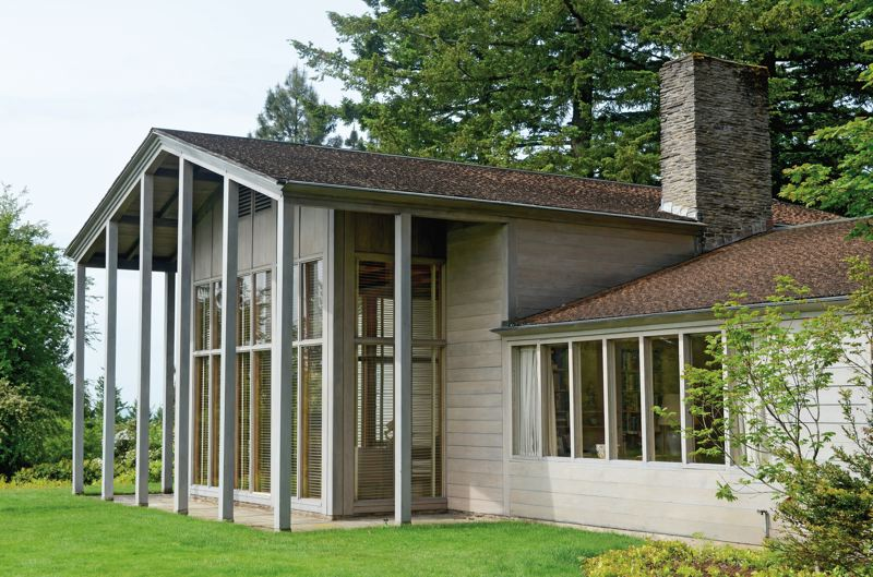 COURTESY: BRIAN LIBBY - The Watzek House in Portland is one of architect John Yeon's masterful designs.