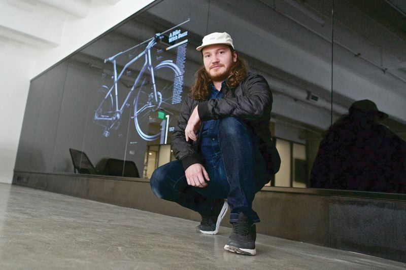 TRIBUNE PHOTO: JAIME VALDEZ - The secret to long-lasting products is producing items that consumers cant help but connect to emotionally, says Portland industrial designer Robb Hunter.