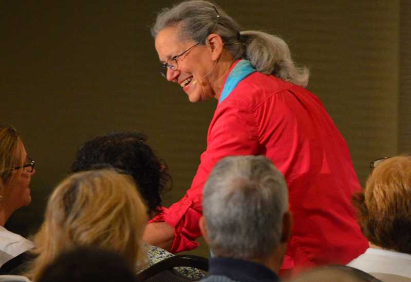 SPOKESMAN PHOTO: JAKE BARTMAN - Dementia is on the rise, according to renowed dementia care educator Teepa Snow. Snow led a free conference funded by the state in Wilsonville June 1.
