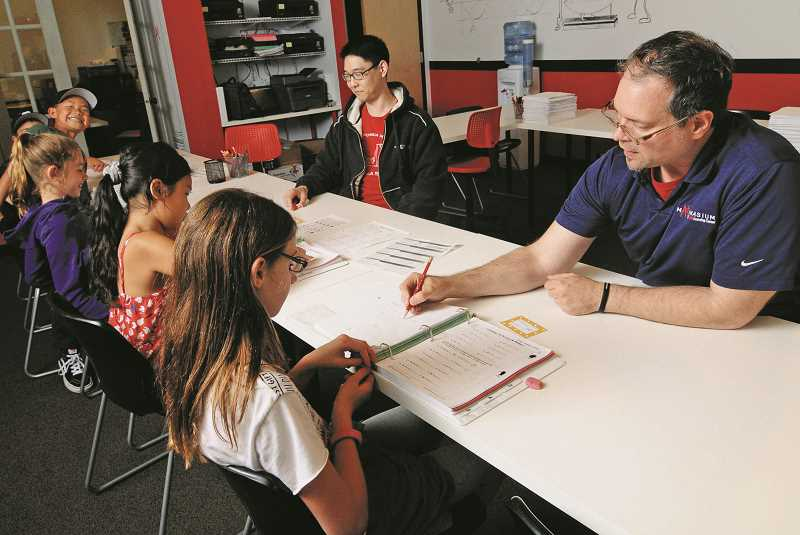 Pamplin Media Group - Mathnasium helps students plan for the