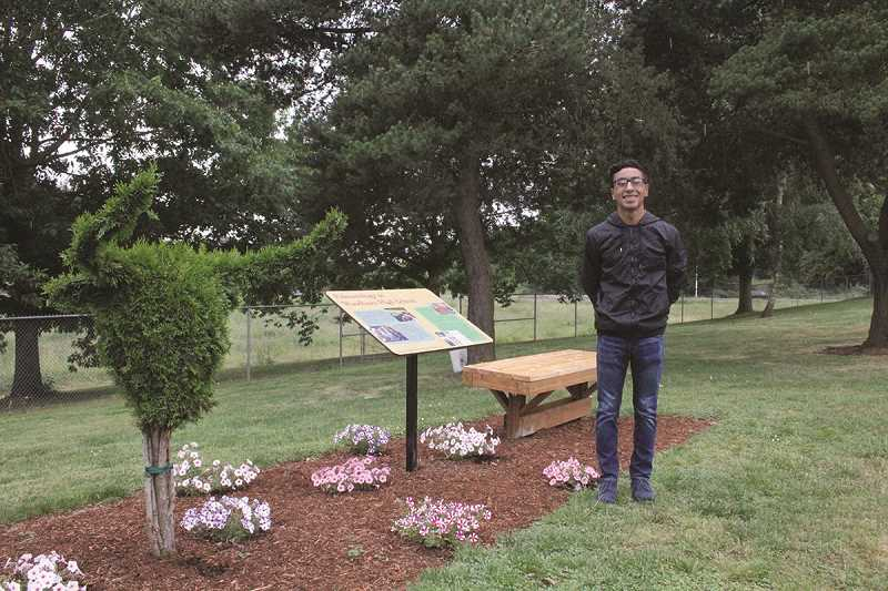 Grad works fingers to the bone for Eagle Scout project