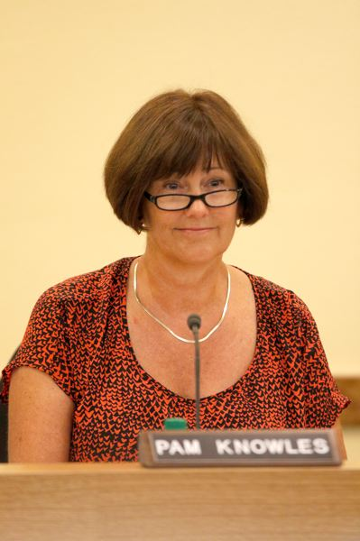 TRIBUNE FILE PHOTO - Portland school board member Pam Knowles last week objected to a freeze on market adjustments for administrative salaries.
