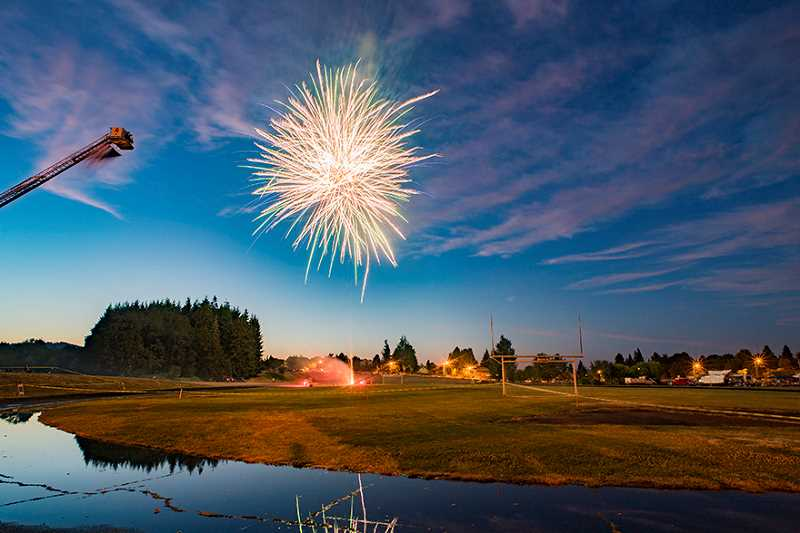 Enjoy the fireworks this holiday but be safe.