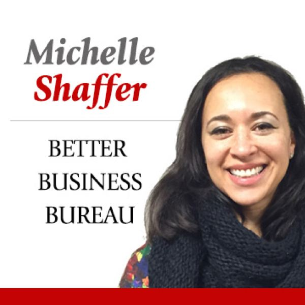 PAMPLIN MEDIA - Michelle Shaffer of the Better Business Bureau