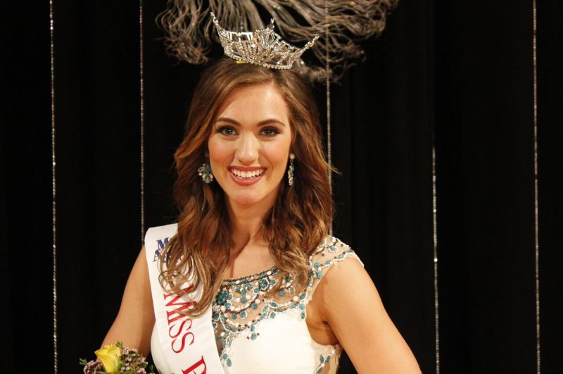 COURTESY PHOTO - The new Miss Oregon is Alexis Mather, a student at Portland State University.