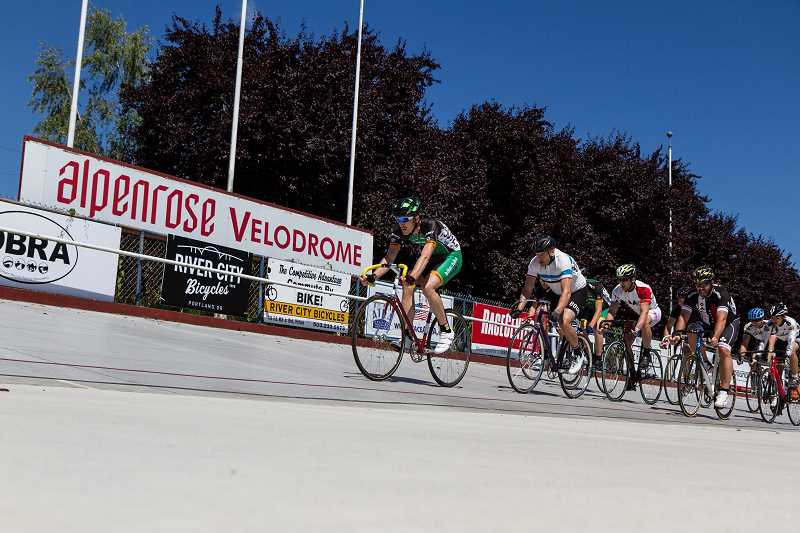 SUBMITTED PHOTO - Dont miss the 17th-annual Alpenrose Velodrome Challenge taking place July 8, 9 and 10 at Alpenrose Dairy. The event is free.