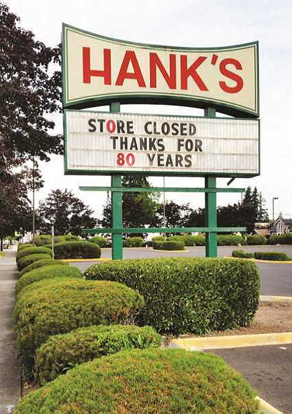 TRIBUNE FILE PHOTO - Hanks supermarket was in business for eight decades before closing its doors last year. Redevelopment for the site was expected to be apartments, but a real estate firm working with the city to develop the site recently backed out of those plans.