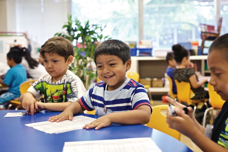 William Walker kindergartners get a summer jumpstart
