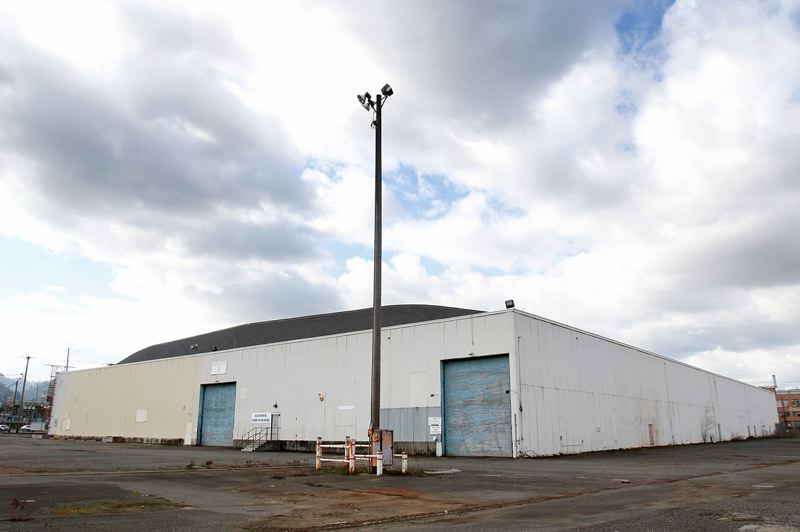 PORTLAMND TRIBUNE: JONATHAN HOUSE - The City Council will be asked to use this empty warehouse on the former Terminal 1 site as a homeless shelter.