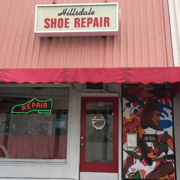 PHOTO COURTESY OF GEORGINA YOUNG-ELLIS - Hillsdale Shoe Repair offers friendly and attentive service, says columnist Georgina Young-Ellis.