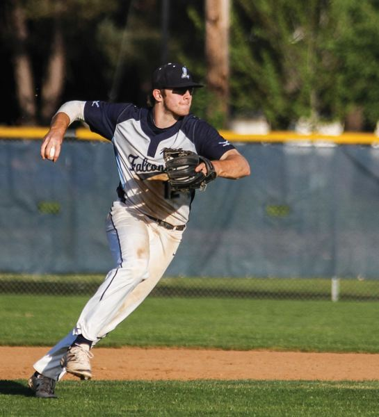 TRIBUNE FILE PHOTO: CHASE ALLGOOD - Cody Rice, from Liberty High, has been a top batter this summer for the Portland Eastside Barbers, who won an American Legion Area 2 playoff game to earn the league's top seed into this week's AAA state tournament at Volcanoes Stadium in Keizer.