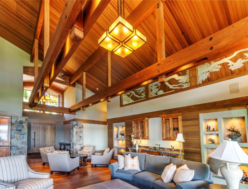 Arrow Timber Framing offers stunning post and beam design.