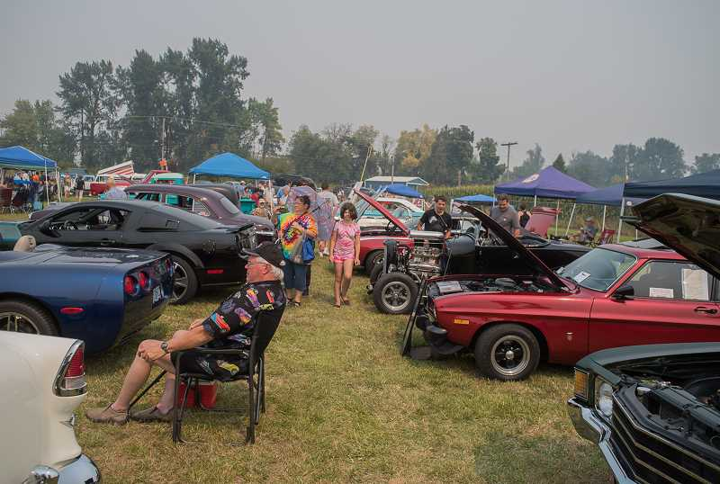 NEWS-TIMES/HILLSBORO TRIBUNE FILE PHOTOS - Car enthusiasts can view a wide range of newer and vintage vehicles during the Wapato Showdown.