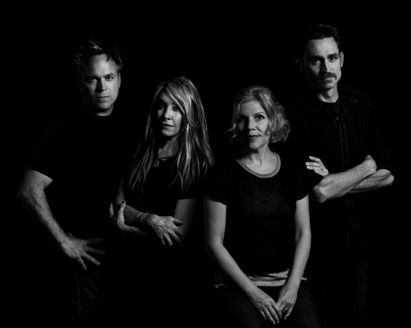 COURTESY: GORMAN STUDIO - From left, Chris Gorman, Gail Greenwood, Tanya Donelly and Tom Gorman, collectively known as Belly, are ready to pick up where they left off in the mid-1990s.